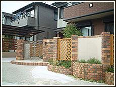 塀・花壇・アプローチ1