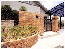 塀・花壇・アプローチ2